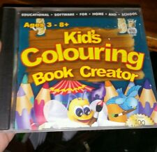 Kid's Colouring Book Creator PC GAME- FREE POST