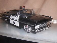 Toy Diecast  Jada / Dub Heat 1:24 1959 Chevy Impala Police car