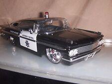 Toy Diecast  Jada / Dub Heat 1:24 1959 Chevy Impala Police car