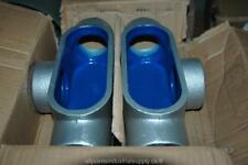 "2 Thomas Betts T67 T&B Bluekote Blue Kote 2"" Rigid Outlet Boxes Body - NOS"