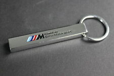 Stainless steel Performance Car Original keychain key chain keyring OEM BMW