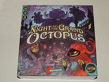 NIGHT OF THE GRAND OCTOPUS BOARD GAME *NEW!* IELLO GAMES