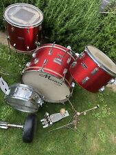 More details for maxwin pearl vintage drum kit