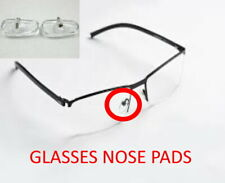 10 X Nose Pads Silicone Screw On Glasses Repair Sunglasses Spectacle Nosepad Fix