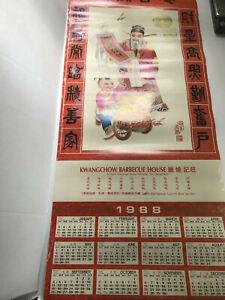 1988-89 Chinese Calendars - Seattle WA