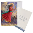 """African American """"JOY"""" Of Merry Christmas Card   Size 7"""" X 5""""."""