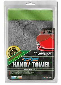 "Nanoskin AS-015 AUTOSCRUB Handy Towel Car Cleaning 7"" x 7"" General Grade - Clay"