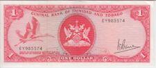 TRINIDAD & TOBAGO BANKNOTE P30a-5574 1 DOLLAR, SIG 3, PREFIX EY, EF
