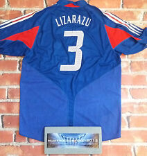 LIZARAZU VINTAGE FRANCE FOOTBALL SHIRT JERSEY EURO GRANDI 2004 05 RARA Retrò