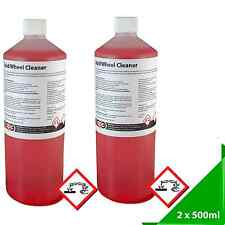 Alloy Wheel Cleaner *Professional Strength* (Acid Based) *Valeting* 2 x 500ml