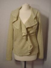 Principles beige boucle style knitted cardigan/jacket 12