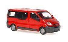 Rietze 11290 - Van Vauxhall Vivaro Vitreous, Red Scale 1:87