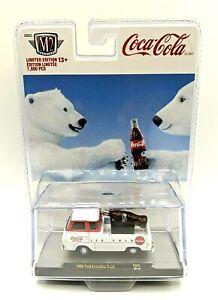 M2 MACHINES 2020 Coca Cola 1965 Ford Econoline Truck w/Coke Bottle PB02 20-19