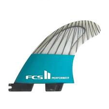 Fcs II Performer PC Carbon Tri Surfboard Fins In Large From FCS 2