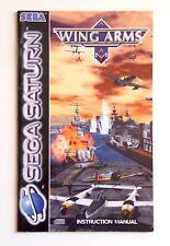 Notice Wing Arms Sega Saturn