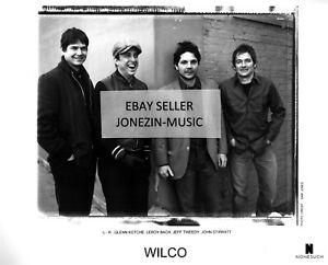 Wilco 8x10 inch black & white band promo/publicity/press photo MINT
