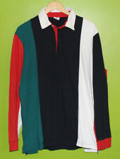 URBAN OUTFITTERS SHIRT COLOR BLOCK POLO RUGBY LONG SLEEVE TEE MEN'S SIZE SMALL