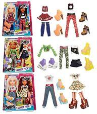 6 X Bratz muñecas de lujo trajes Nuevo Doble Moda Packs X 3 prendas de vestir sets 123