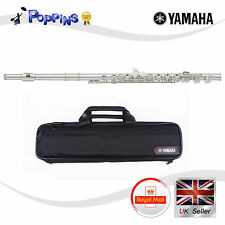 NEW Yamaha YFL 222 Standard Silver Student Flute Offset G w/Semi Hard Case