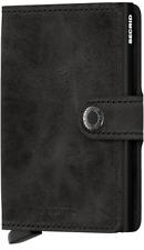 Secrid - Miniwallet Vintage - schwarz - NEU & OVP ( C-Black )