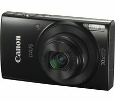 Canon IXUS 185 20mp Compact Digital Camera - Black 8x Optical Zoom