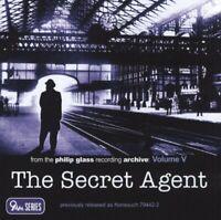 Glass - The Secret Agent (Original score) [CD]