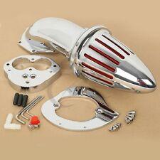 Chrome Air Cleaner Kits intake filter For Kawasaki Vulcan VN1500 VN1600 00-12