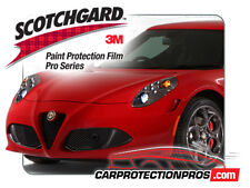 Alfa Romeo 4C 2017 3M Scotchgard PRO Clear Bra Paint Protection Standard Film Kt