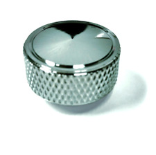 "Chrome Knurled Air Cleaner Wing Nut 1/4""-20 Universal Hot Rod Chevy Ford Mopar"