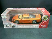 Motormax 1/18 Scale Diecast Car 73117 Saleen S7 Burnt Orange Original Box