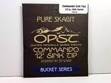 Opst Pure Skagit Commando Sink Tip - 12 Foot, 132 Grain S8/9 Bucket - New