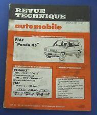 Revue technique RTA 413 Fiat panda 45