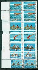 1983 Water Sports,water Polo,Rowing,canadian canoe,Diving,Romania,Mi.3972,MNH,x4