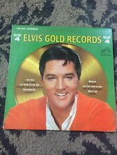 Elvis Presley  Gold Records Volume 4 record/vinyl.Must have for your collection!