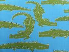 Harlequin/Scion Fabric 'IN A WHILE CROCODILE' 3.2 METRES Citrus/Lagoon - Cotton