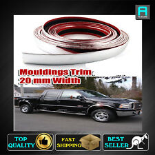8M x 20mm Chrome Moulding Trim For Vehicles Exterior Window Pillar Roof Upgraded
