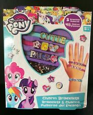 51Pcs My Little Pony MAKE YOUR OWN BRACELET SET Charm Bangle Kids Birthday Gift