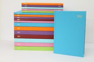 2022 A5 OR A4 'WEEK TO VIEW OR DAY A PAGE' HARDBACK & CASEBOUND DIARY & PLANNER.