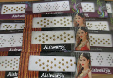 10 X Large Pack Assortiment Genuine Indian Party Bindi UK Vendeur Livraison rapide