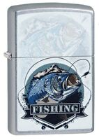 ZIPPO - BENZIN - FEUERZEUG - STREET CHROM - BASS FISHING FISCHEN ANGELN 60004184