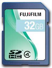 Fuji 32GB SDHC Class 4 Memory Card for FujiFilm FinePix JX520 & Z950EXR