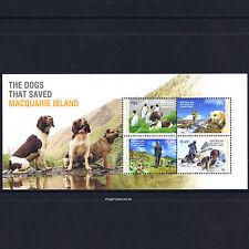 2015 Australia - AAT - Dogs that Saved Macquarie Island mini-sheet - MNH