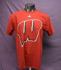 adidas Mens Ncaa Wisconsin Badgers Shirt Nwt $20 L, Xl