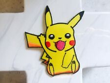 Pikachu Pokémon Game Yellow Pet Hint Jacket Iron On Patches Patch