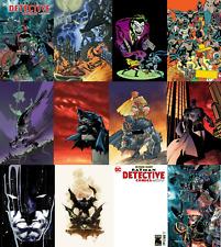 (2019) DETECTIVE COMICS #1000 12 Variant Cover Set! Jim Lee! Steranko! Midnight!