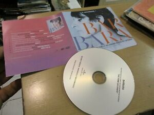 barbara cd promo duos  dont johnny hallyday