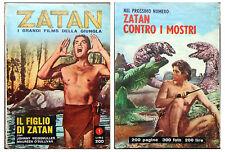 ZATAN -  n.1 - il figlio di zatan - cineromanzo -vedi foto Ottimo