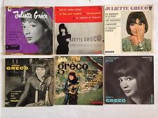 LOT DISQUES 45T SPECIAL JULIETTE GRECO