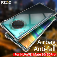 For Huawei Mate 30 Pro 20 X 10 Lite Clear Shockproof Soft Slim TPU Cover Case