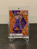 2019-20 Panini MOSAIC REACTIVE ORANGE LEBRON JAMES #8 LA LAKERS *PACK FRESH*🔥🔥